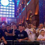 Maior romaria do Santuário Nacional, Terço dos Homens reúne 70 mil fiéis em Aparecida