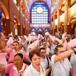 Santuário Nacional acolhe a 7ª Romaria do Terço das Mulheres